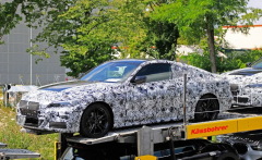 宝马新一代4系Coupe谍照 预计今年年底发布