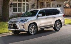 八座SUV雷克萨斯LX570最低售价中东版加版配置区别