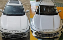 新款捷途X70新车在外观方面与现款有着较为明显的差别