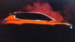 日产全新小型SUV预告图 定位低于劲客