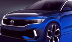 大众汽车将在即将到来的日内瓦车展上展示T-Roc跨界车的涡轮增压热门版本T-RocR