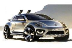 新款甲壳虫SUV概念车 将亮相北美车展