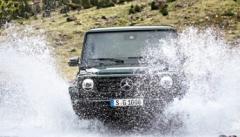 梅赛德斯奔驰首次发布了全新版本的G级高级SUV