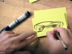 宝马iNext电动车设计草图 9月正式发布
