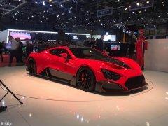 2018日内瓦车展:Zenvo hypercar亮相