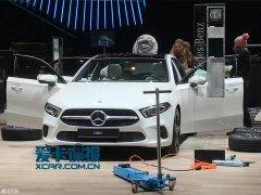 2018日内瓦车展探馆 全新奔驰A级抢先看