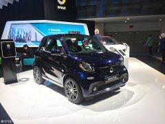 2018北美车展:smart fortwo特别版发布