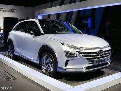 现代氢燃料电池车命名为NEXO 续航805km