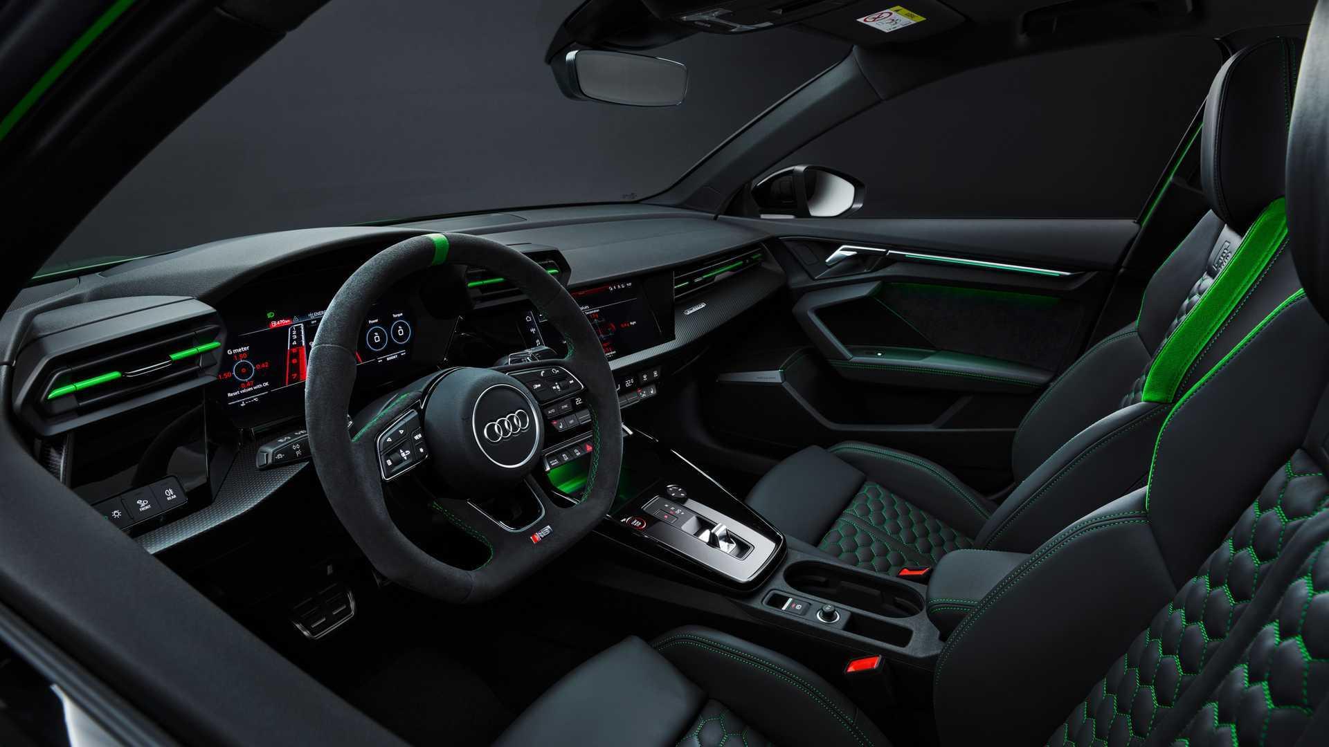 奥迪发布新款RS3,讨好美国消费者性能专属提升