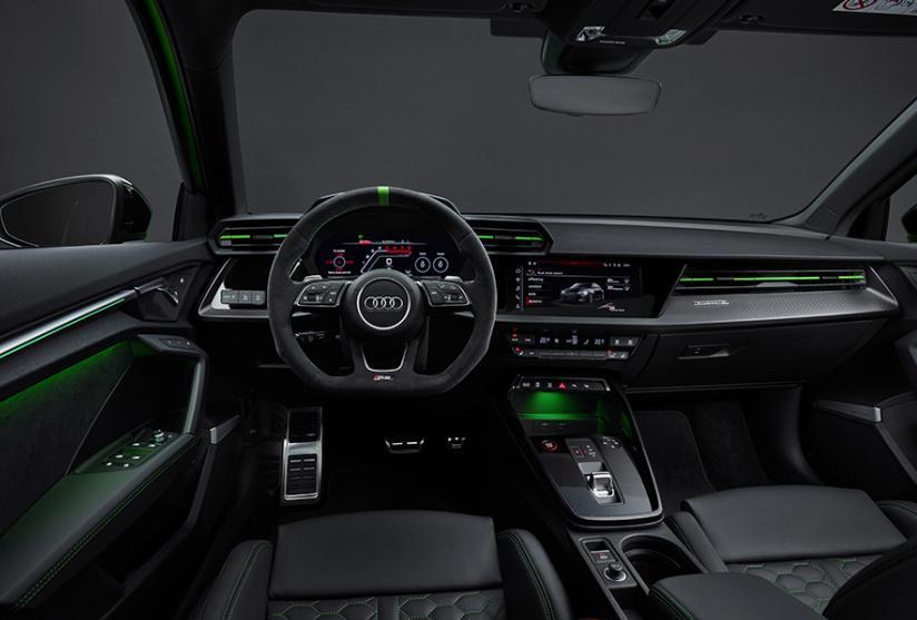 S3是理想,RS3梦想,全新一代奥迪RS 3官图正式发布