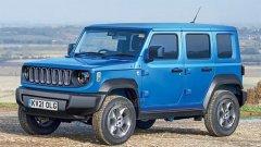 奶凶奶凶的Jeep全新SUV车型的假想图正式曝光