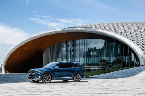 吉利旗舰SUV来了,星越L上市,全系2.0T,售13.72万起