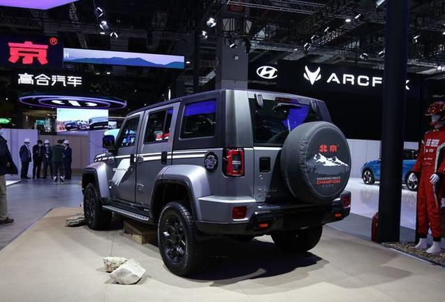 新款BJ40环塔冠军版发布,预售21.49万元,限量2021台